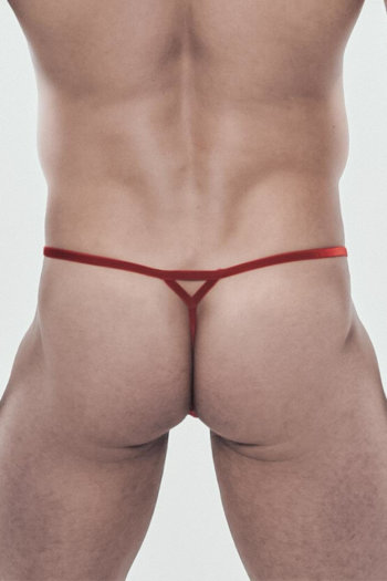 PHILIPP-Glamour, Rot, Spitze, String