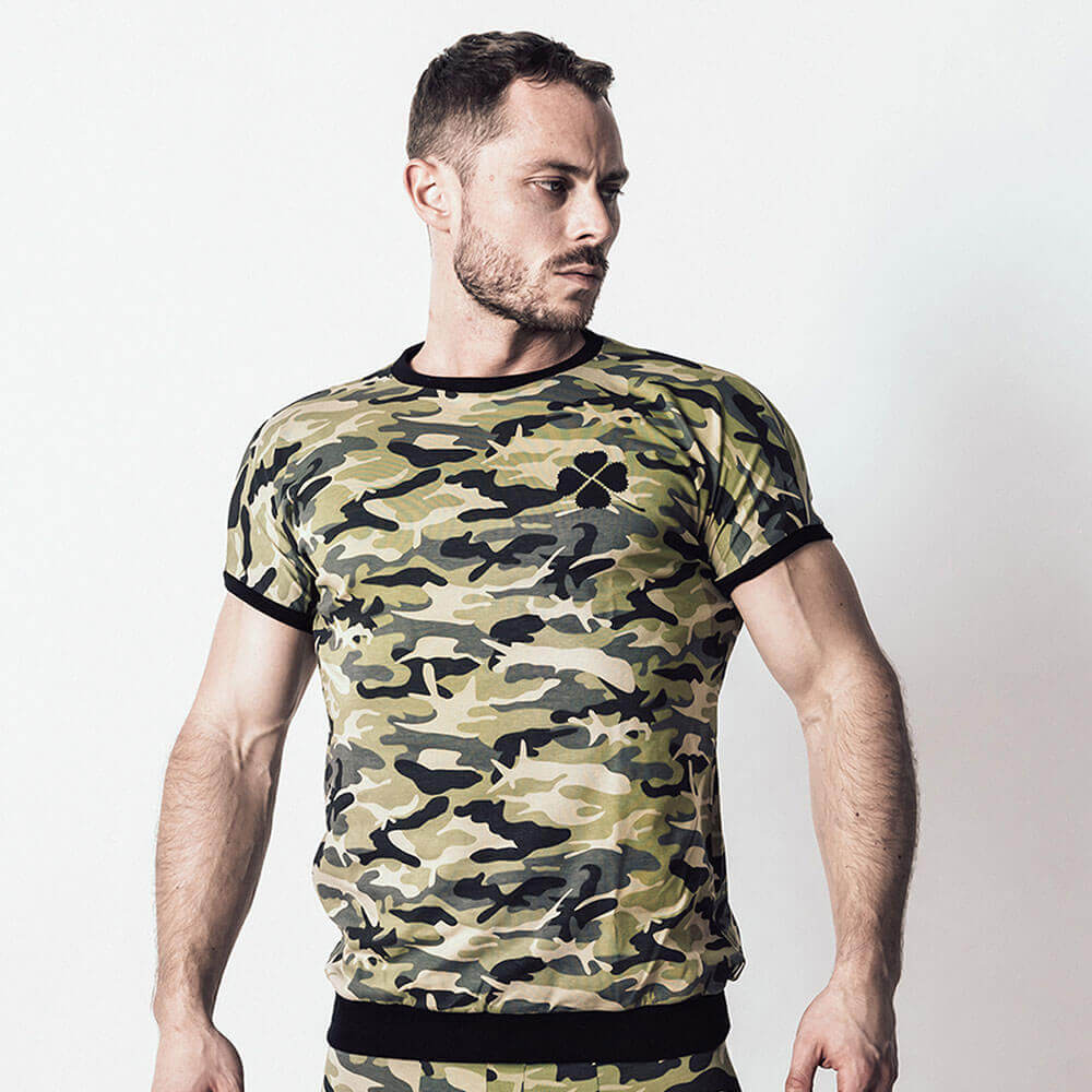Kleeblatt T-Shirt army 1