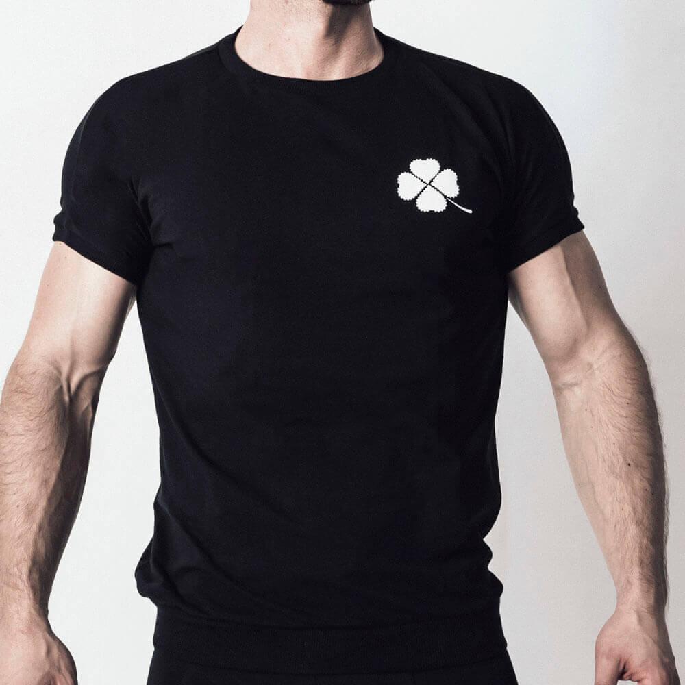 Maske + Shirt Set schwarz 3